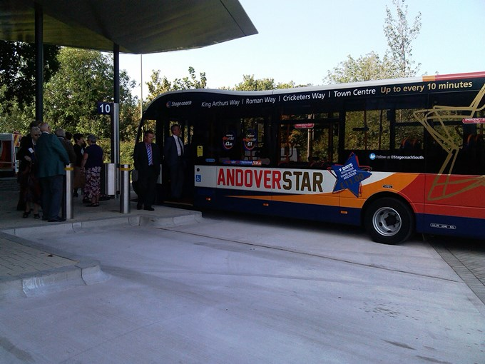 Andover Bus Station Opening 06