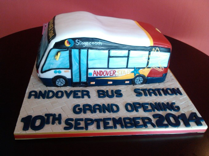 Andover Bus Station Opening 10