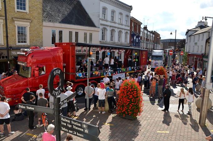 Andover Carnival Procession 2014