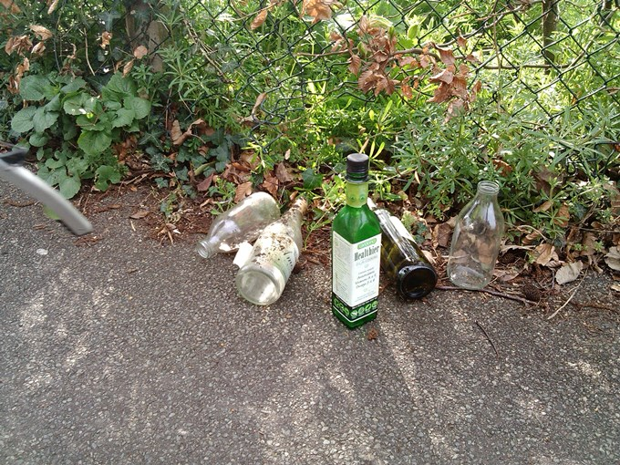 Andover Town Tidy Bottles Collected