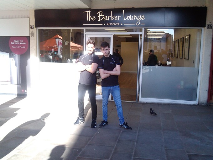 08 - The Barber Lounge Team
