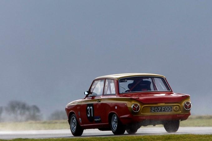 Mike Gardiner (GBR) Lotus Cortina