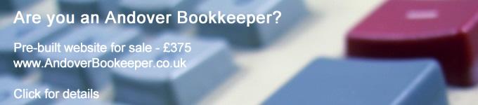 Advert - Andover Bookkeeper