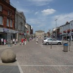 Assault in Andover High Street