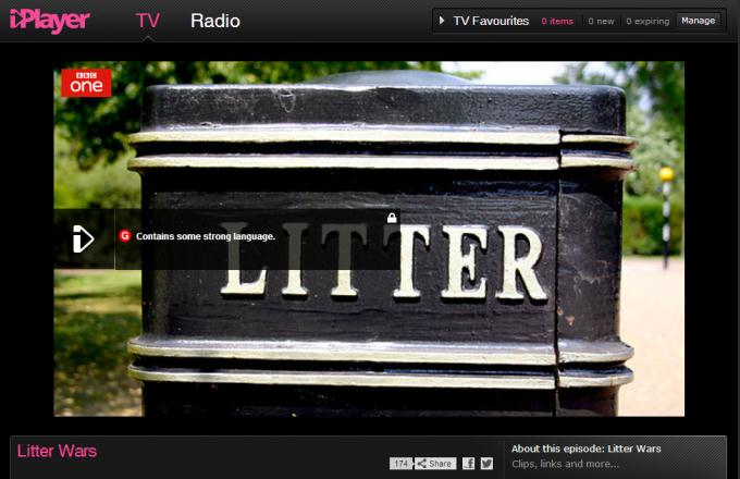 BBC Litter Wars