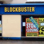 Blockbuster Shop Closes Tuesday