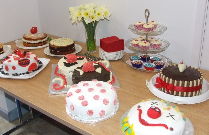 "Red Nose Day ""Bake Off"" at The Lights in Andover"