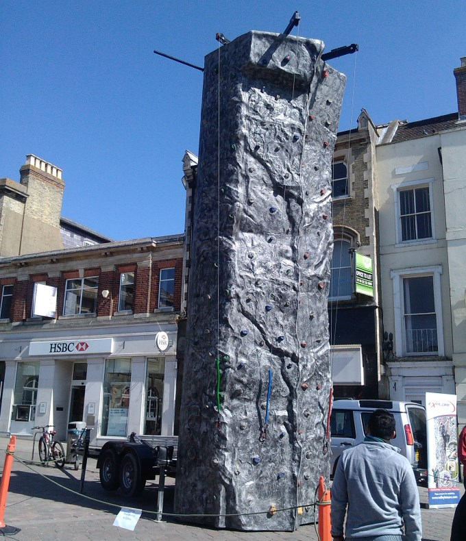 Climbing Wall in Andover