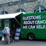MacMillan Information Bus in Town