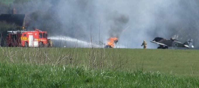 Middle Wallop Air Crash - Nick Bayes