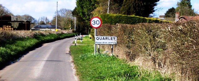 Quarley Village Sign - Andover Town News