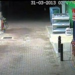 CCTV Footage of Weyhill Garage Explosion