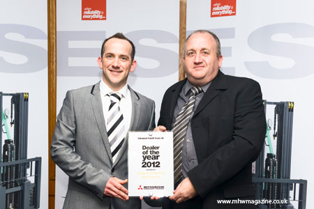 Andover Fork Trucks Win Gold Award 2012