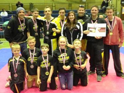 Fighting Falcons April Awards 2