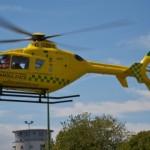 Air Ambulance at Saxon Fields