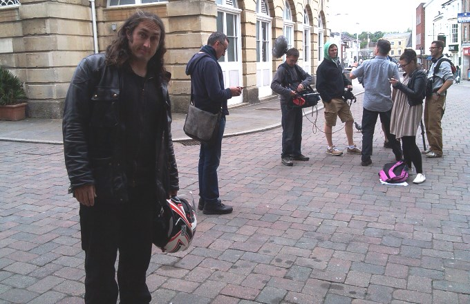 Ross Noble in Andover