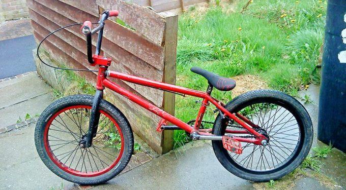 Stolen Red BMX
