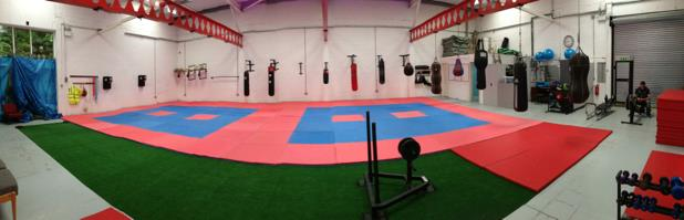 Fighting Falcons New Gym