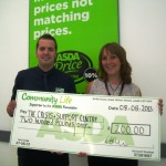 Crisis and Support Centre Get Asda Support