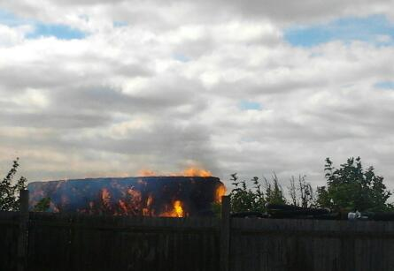 Andover Down Farm Fire