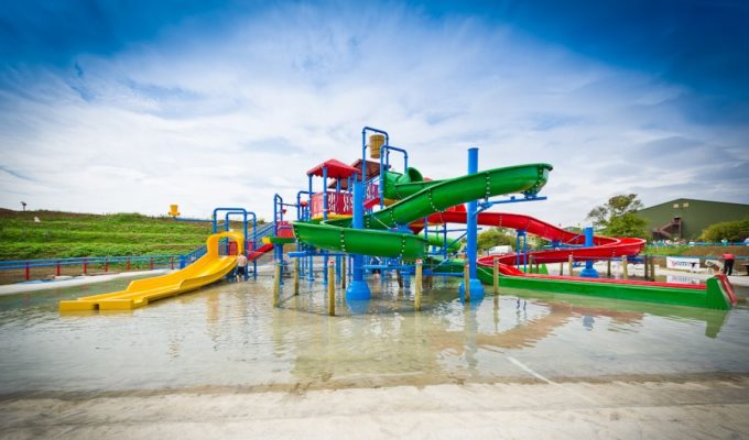 Splashpark in Andover