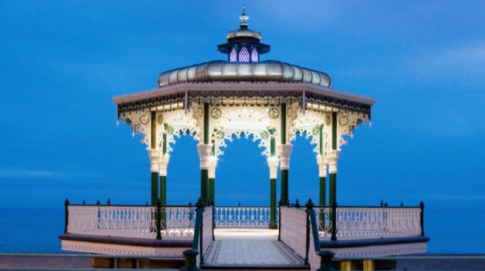 Bandstand in Andover