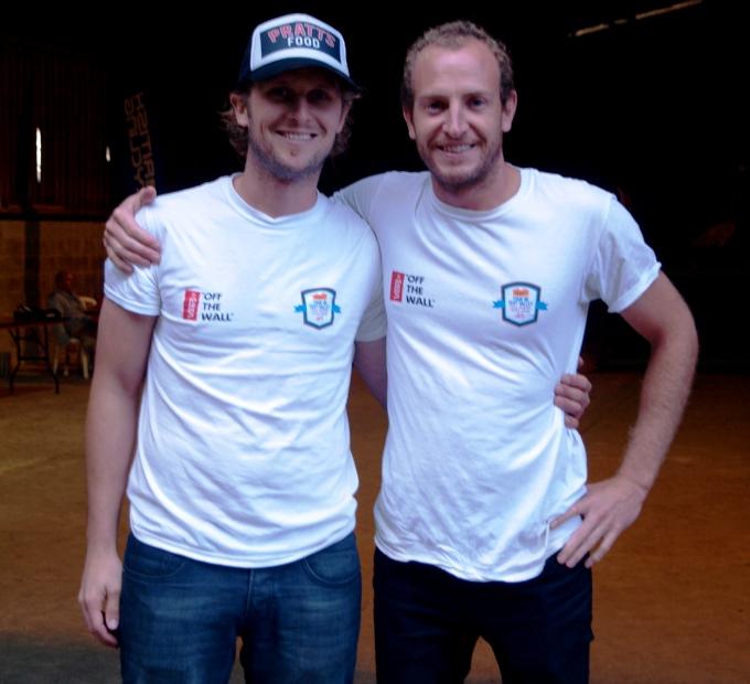Chris Pratt & Marcus Chapman