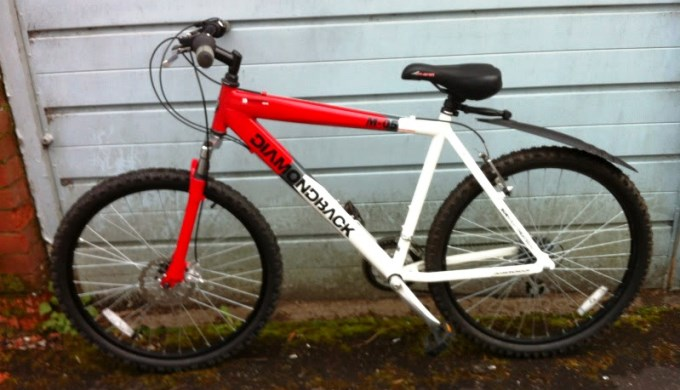 Stolen Diamondback Bike