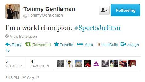 Tommy Gentleman Twitter