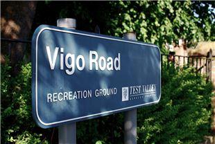 Vigo Park Sign