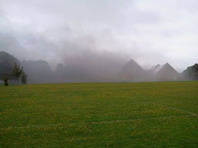 Winton School Fire - Smoke