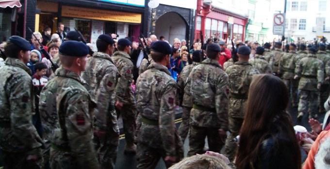 22 Engineer Regiment - Bridge Street Andover
