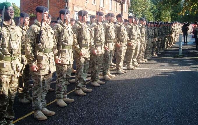22 Engineer Regiment - Photo by Roy Jones