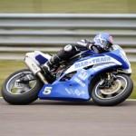 Andover Trailers Celebrate Motorbike Racing Win