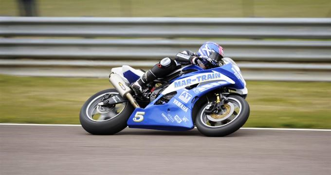 Andover Trailers Motorbike Racing Win