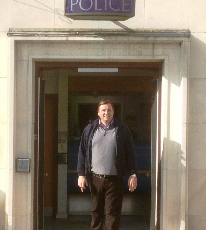Cllr Hooke Police Station