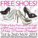 Free Shoes at The Dress Boutique