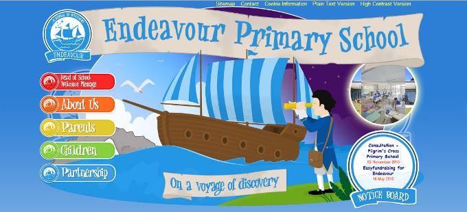 Endeavour Primary School Website