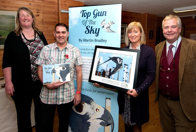Hawk Conservancy Book Launch