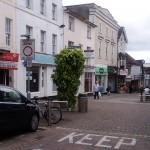 Improvement Work Begins in the Upper High Street