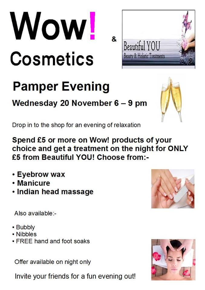 Wow Cosmtics Pamper Nights