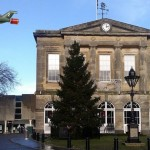 Andover High Street Christmas Tree Rescued