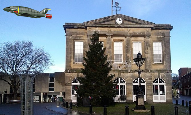 Andover Christmas Tree Rescued
