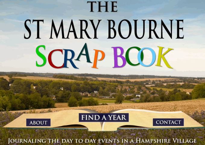 St Mary Bourne Scrapbook - Website