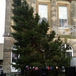 High Street Christmas Tree Removed