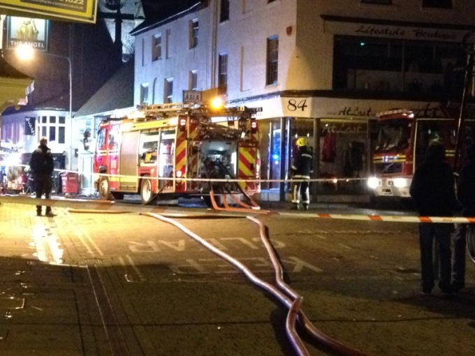Tycoon Restaurant Fire in Andover
