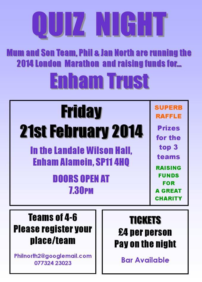 Enham Trust Quiz