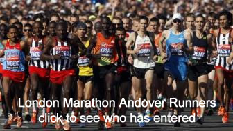 London Marathon Andover Runners
