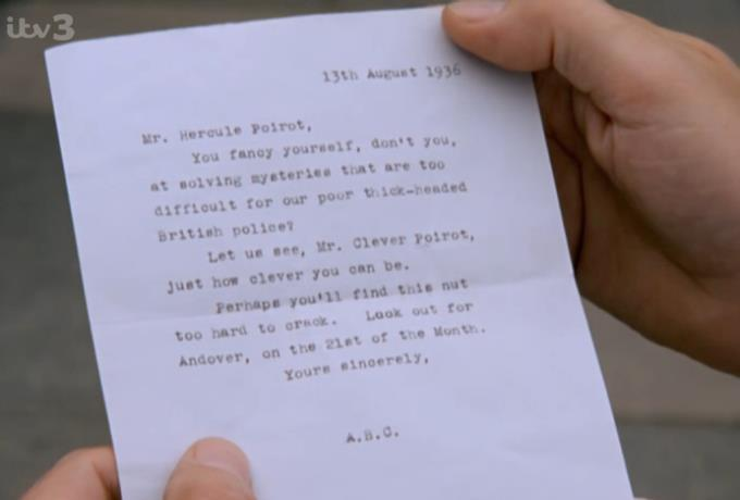 Poirot ABC Andover