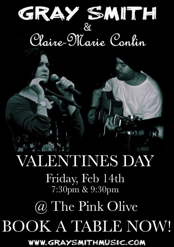 Valentines Day Pink Olive